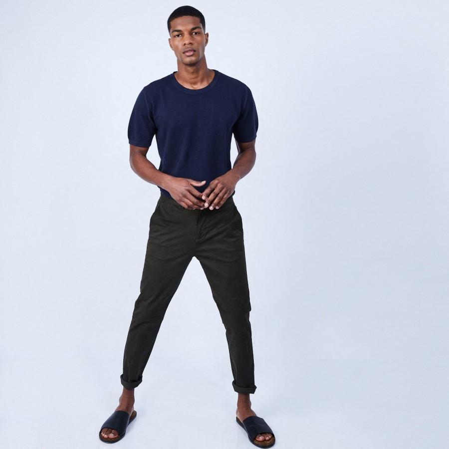 T-shirt en coton - Leonard 6440 marine - 05 Bleu marine