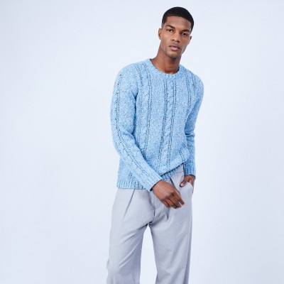 Luxury cable knit jumper - LIZIO