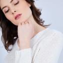 Pull Femme col V - Clovis- 6400 Blanc - 82 écru