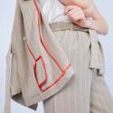 Pantalon large en coton - Joseph
