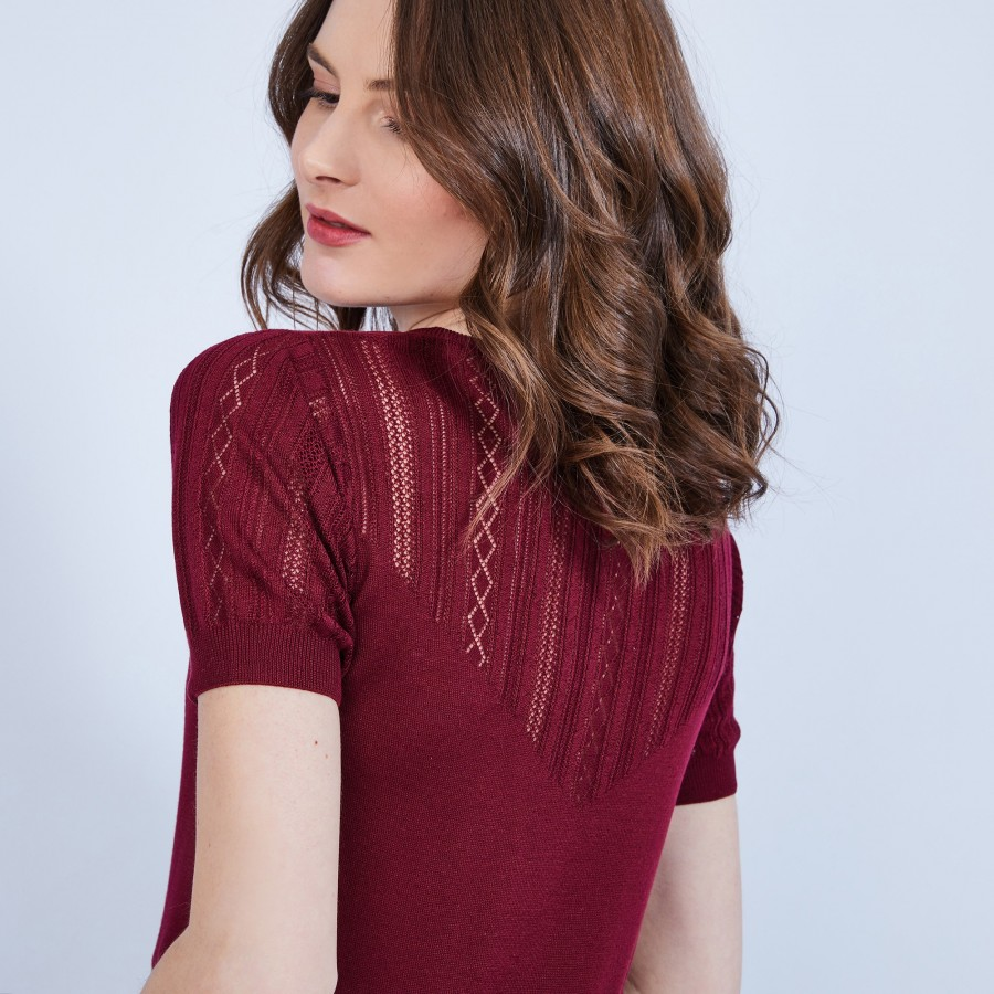 Silk lace top - JUSTICE