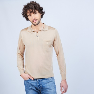 Long sleeves shirt made of fil lumière Boris