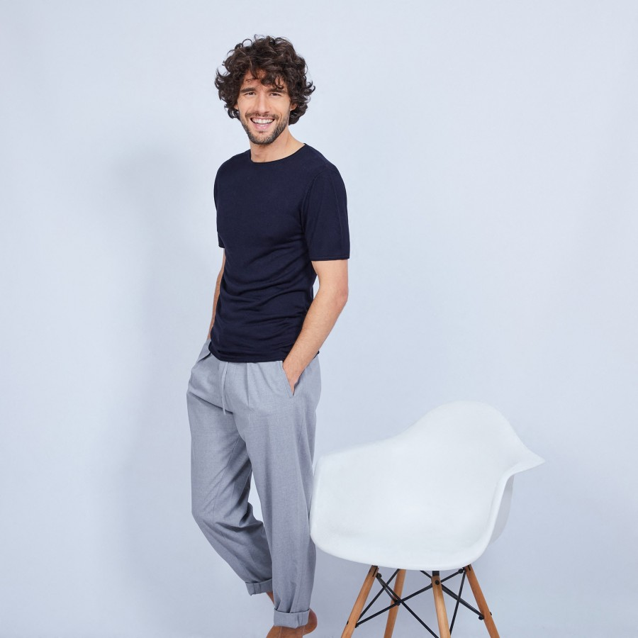 Bamboo and cashmere t-shirt - Haloa