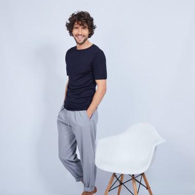T-shirt en bambou cachemire - Oscar
