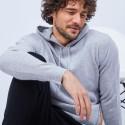 Sweat à capuche en cachemire - Harper 6350 glace - 11 Gris clair