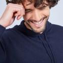 Cashmere hoodie - Harper 6340 Marine - 05 bleu marine