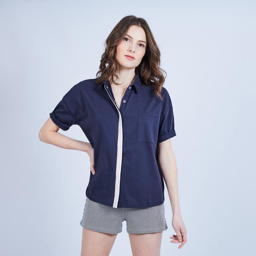 Short-sleeved shirt - MYOSOTIS