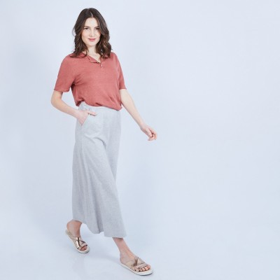 Long cotton skirt - MAGNOLIA