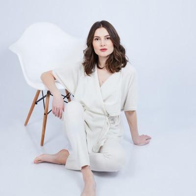 Gilet kimono sans manches - Harriet