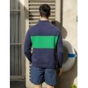 Pull homme Maison Montagut x Cuisse de Grenouille - 05 bleu marine