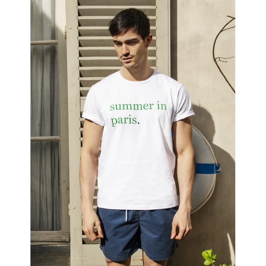 T-shirt homme Maison Montagut x Cuisse de Grenouille -