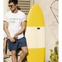 T-shirt homme Maison Montagut x Cuisse de Grenouille - 02 blanc