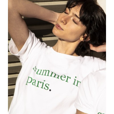 T-shirt femme Maison Montagut x Cuisse de Grenouille - Jaja