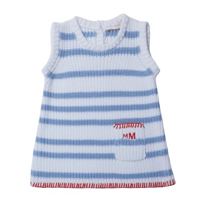 Baby dress in 100% cotton - KLAXON