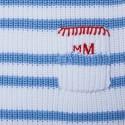 Robe pour bébé en coton - Klaxon 6559 blanc mistral - 02 Blanc