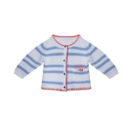 Baby cotton cardigan - KENT