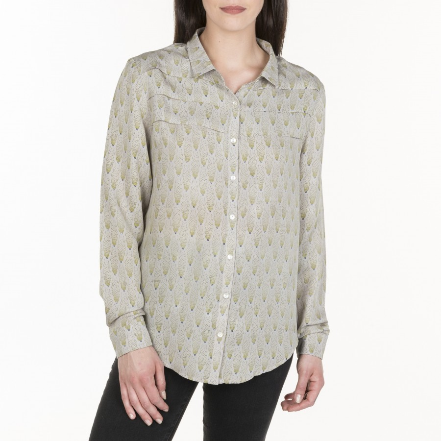 Marguerite silk shirt
