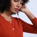 Gilet en laine mérinos - Belita