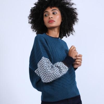 Pull ample en laine & alpaga - Prosper