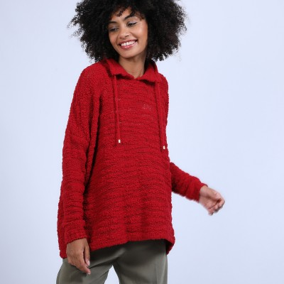 Oversized jumper with lacing - Semya