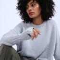 Mitaines en laine & alpaga - Shely 6612 gris clair - 11 Gris clair