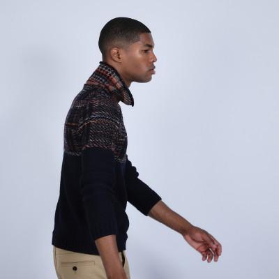 Tartan weave jumper - Rex
