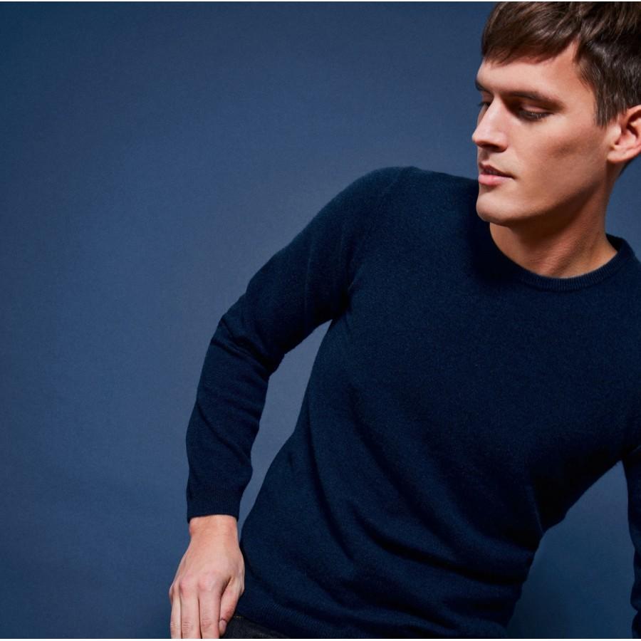 Round-neck cashmere jumper - Benoit