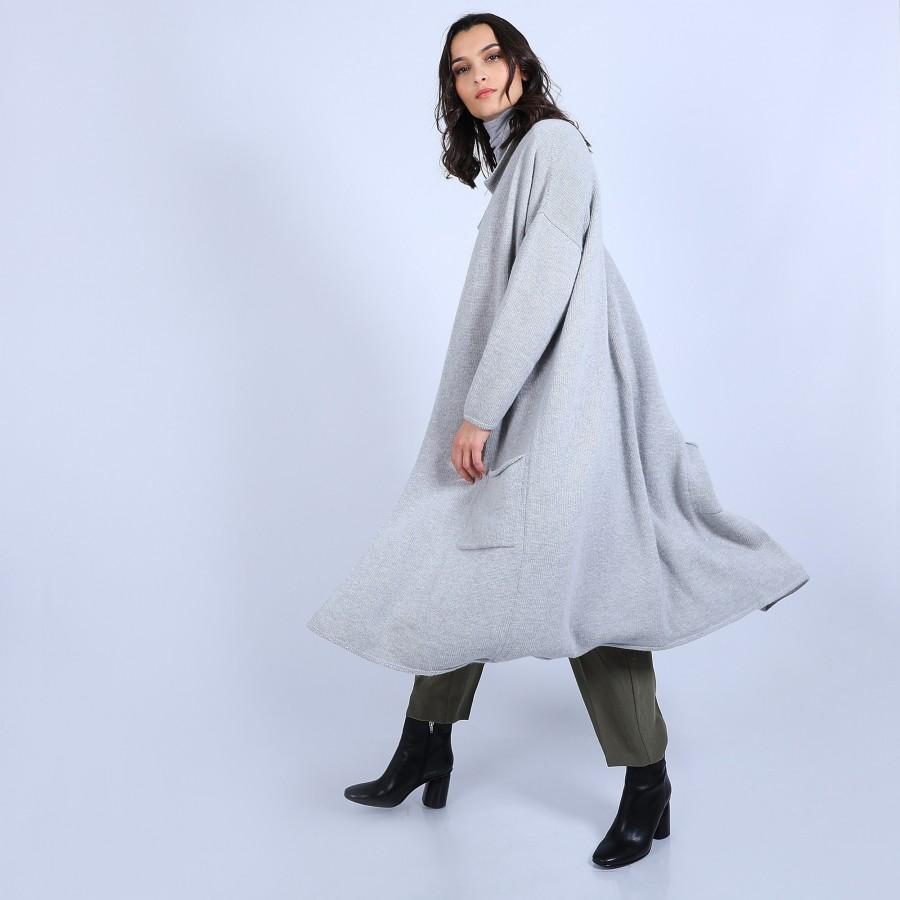 Veste avec poches en laine & alpaga - Sydney
