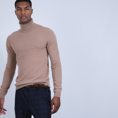 Cashmere roll-neck jumper - Bruno