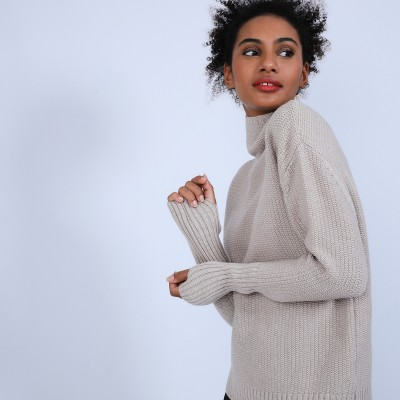 Extra-long sleeved jumper - Solange