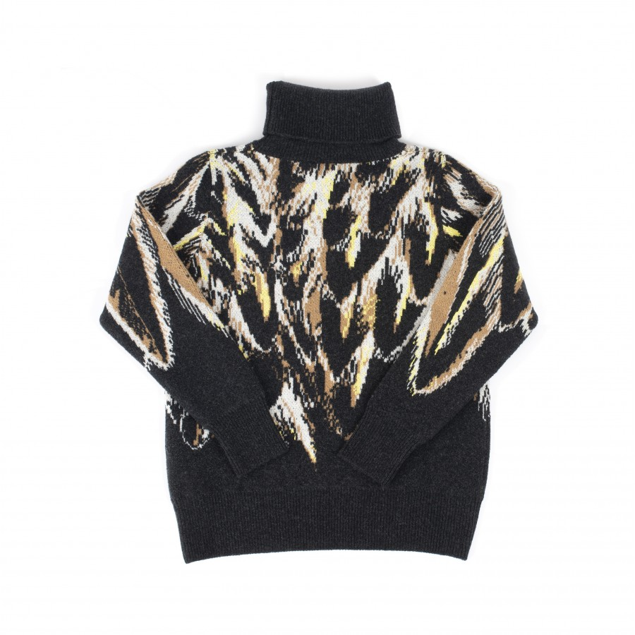 Turtleneck Sweater Maison Montagut x Bleu de Chauffe -Pahia