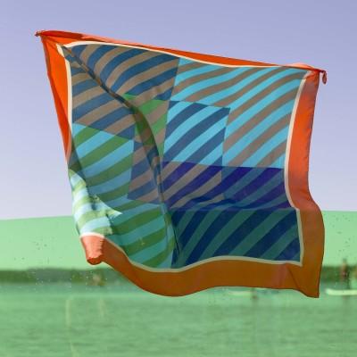 100% silk scarf - Florine