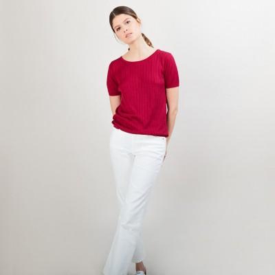 T-Shirt soie naturelle - Aïcha