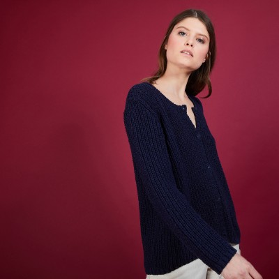 Women's wool cardigan - Baguera