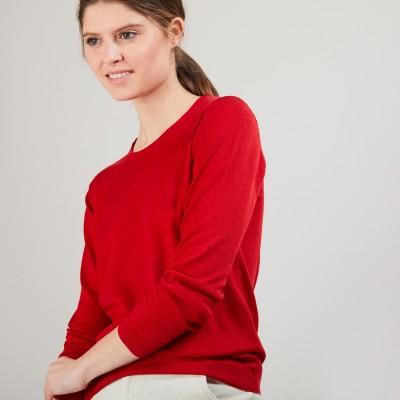 Round neck sweater Merino Wool - Balneo