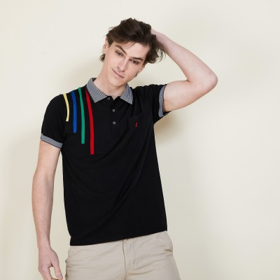 Colorful stripes polo shirt - Barak