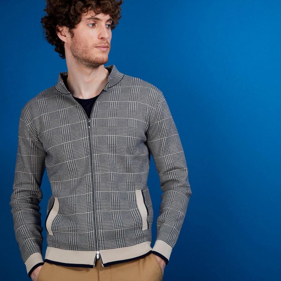 Zipped cotton jacket with pockets - Doha
