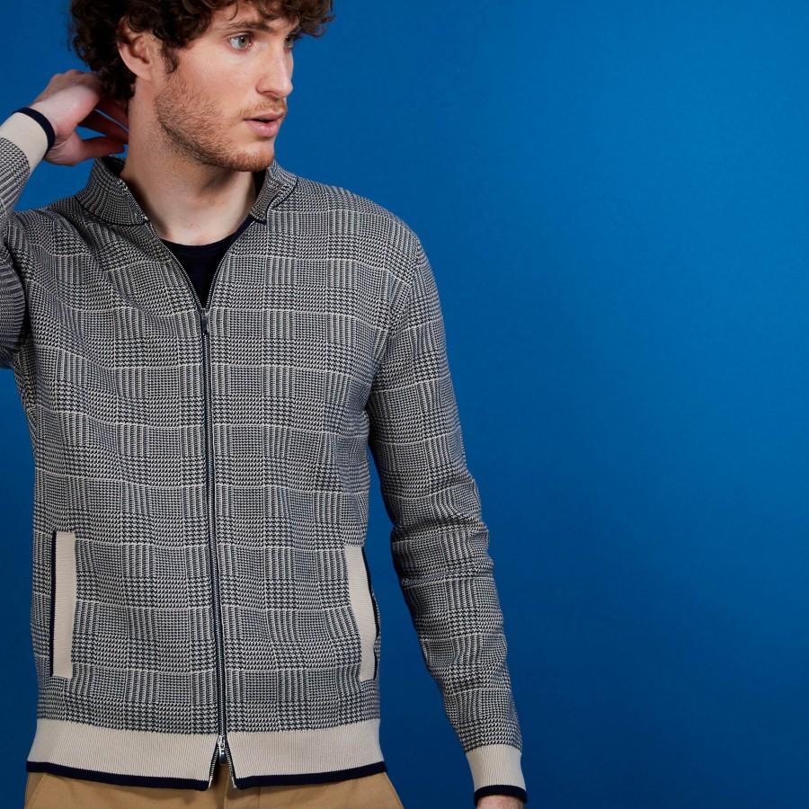 Veste en coton zippé avec poches - Doha