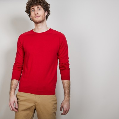 Round neck cashmere and linen sweater - Bandit