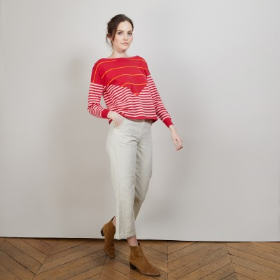 Round neck sweater - Albane