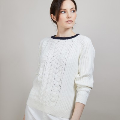 Organic cotton sweater - Alice