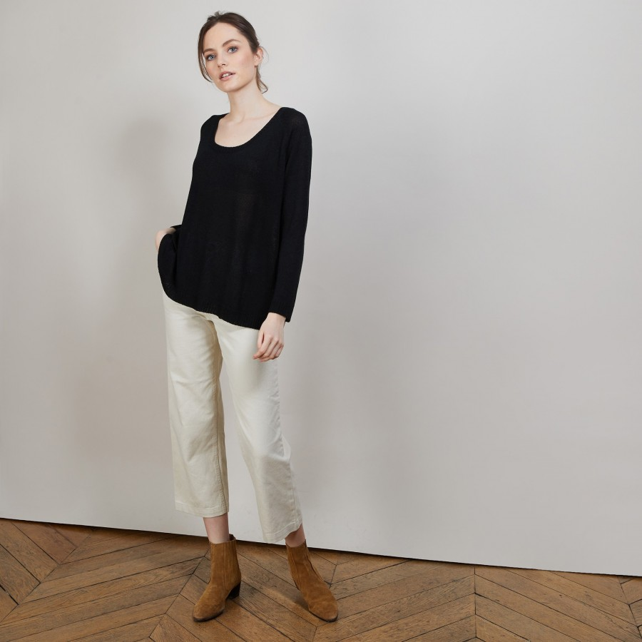 Pull col rond - Babouche