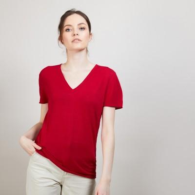 Flamed linen T-shirt - Balkan
