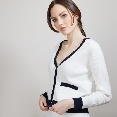 Organic cotton cardigan - Alexia