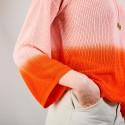Pull dégradé à capuche - Colombe 6927 aubepine - 15 Orange