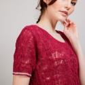 T-shirt tricoté en maille crochet - Claus