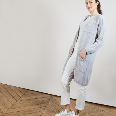 Women's long cardigan - Cathy