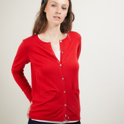 100% pure wool cardigan - Betsi