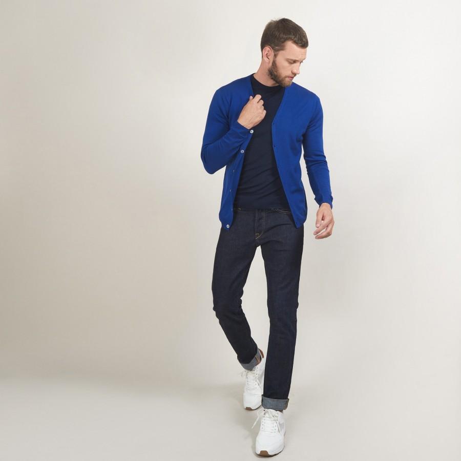 Buttoned wool cardigan - Brad