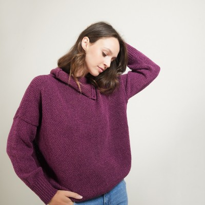 Buttoned high-neck sweater - Garry
